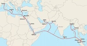 SEA-ME-WE_5_Route_Map